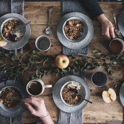 vegan apple granola recipe, no added sugar or fats