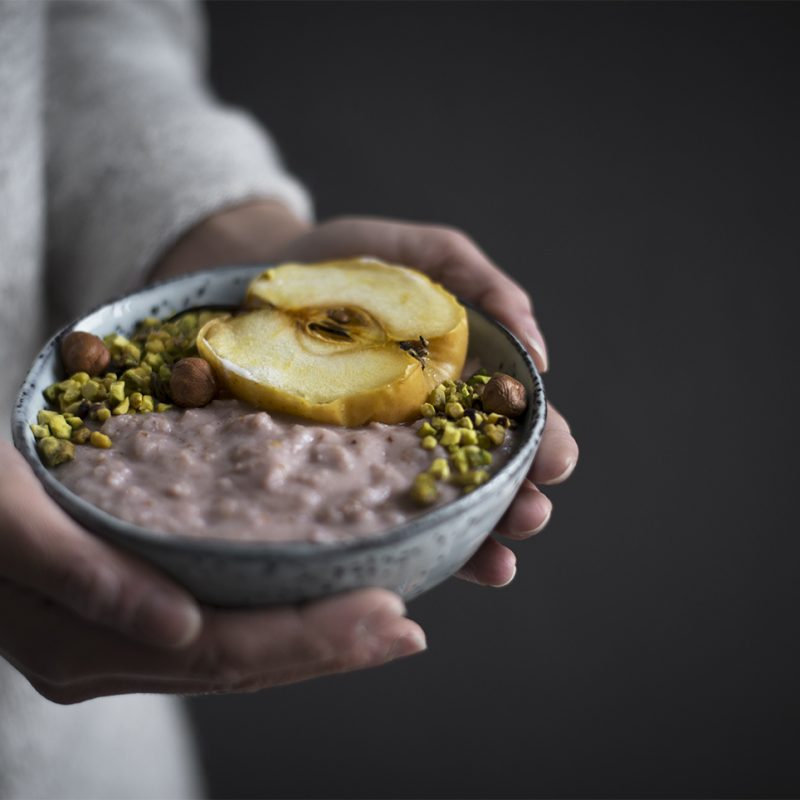 Vegan Apple Porridge