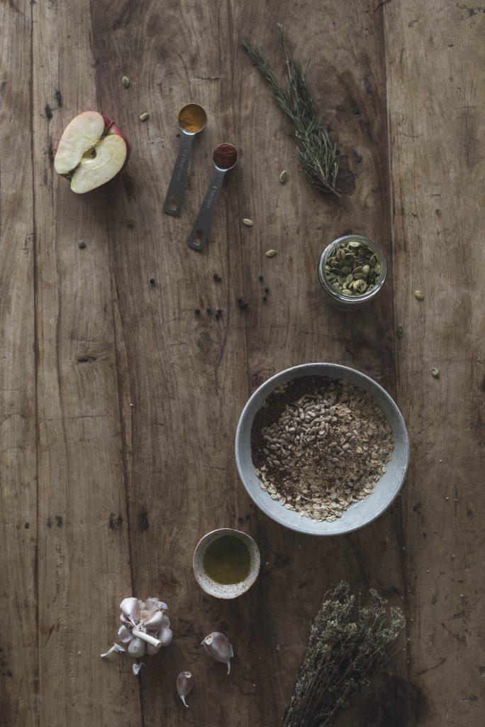 Savory Apple Seeded Granola Recipe
