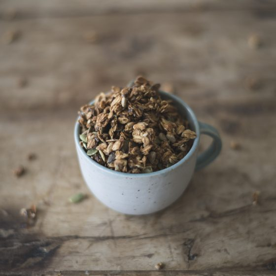 Savory Apple Seeded Granola Recipe