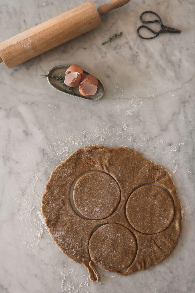 wholegrain shortbread crust for tarts recipe