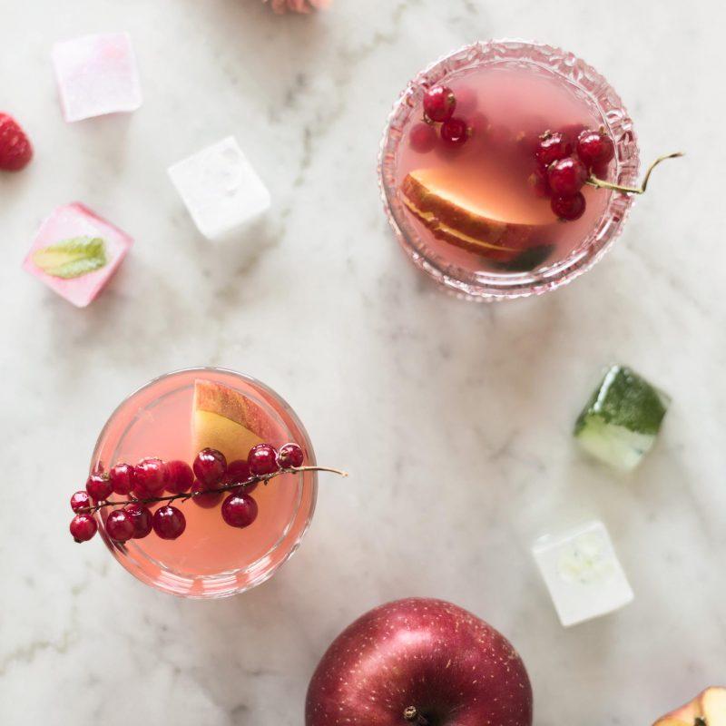 fruity apple iced tea